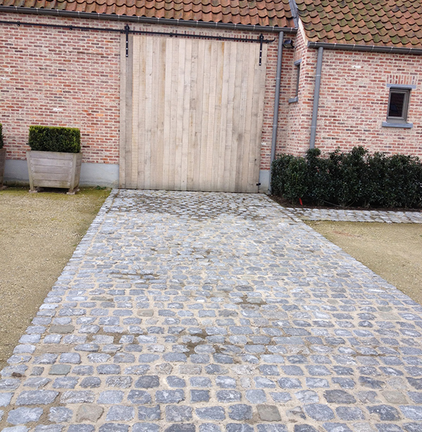 belgian bluestone cobblestone