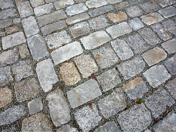 Granite Cobblestone Installation Stone Curators
