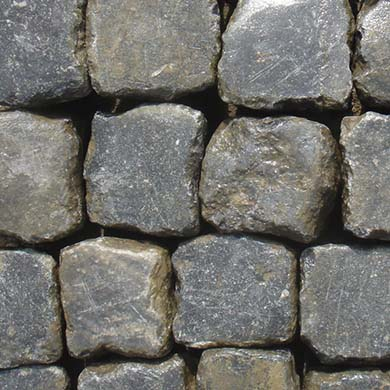 Reclaimed Belgian Bluestone Cobblestone Stone Curators