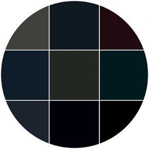 Blacks natural stone color theme