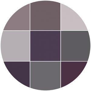 Purples natural stone color theme