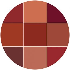Reds natural stone color theme