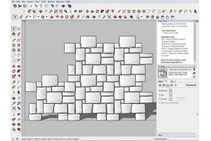 3D Design pattern with tiling straight on view screenshot