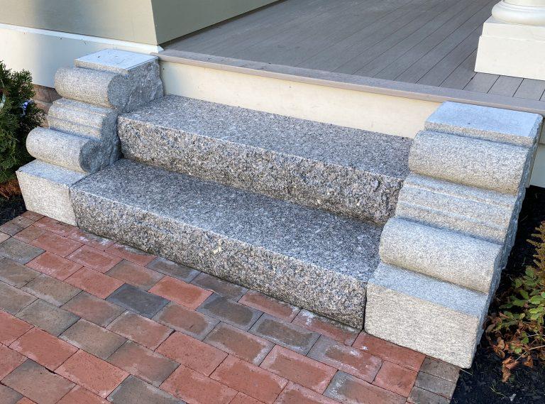 Granite cheek stones