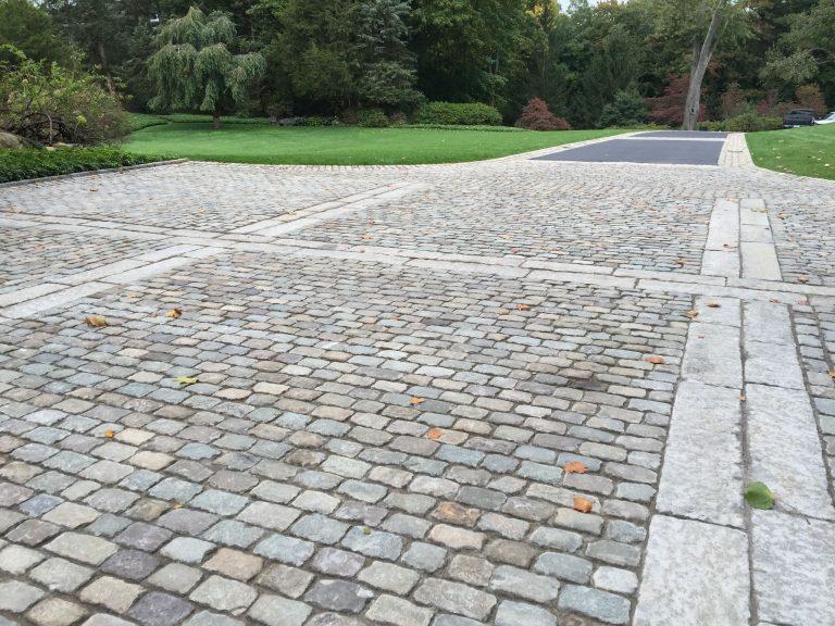 Reclaimed granite European sandstone cobblestone -Stone Curators