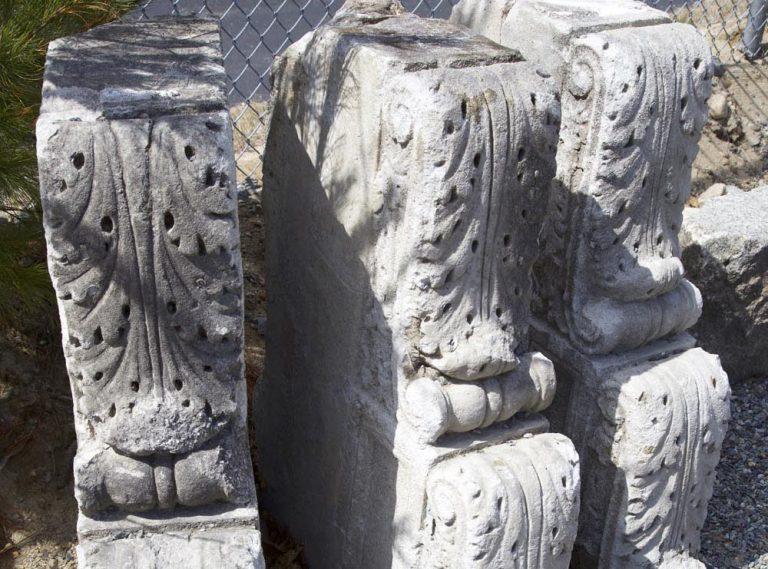 Reclaimed granite architectural element - Stone Curators