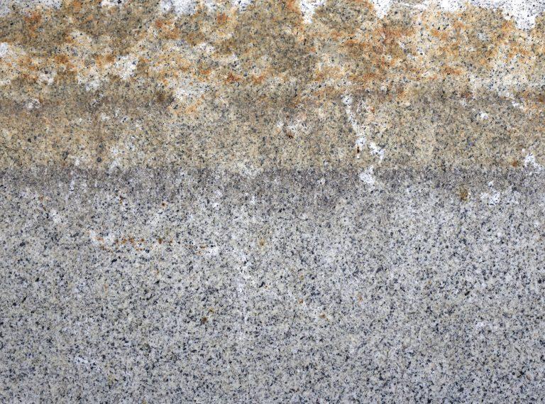 Reclaimed granite horizon line closeup - Stone Curators