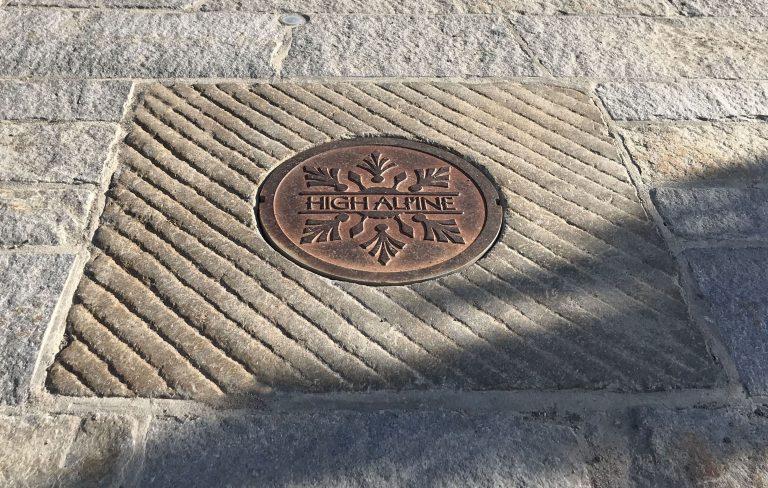 Reclaimed manhole cover - Stone Curators