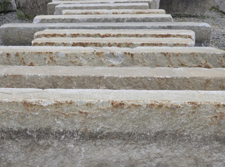 Reclaimed third generation plank paver horizon line - Stone Curators