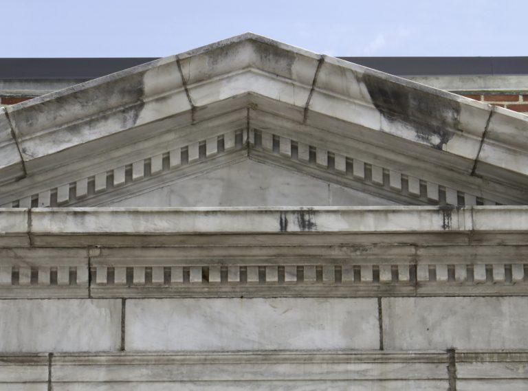 marble cornice