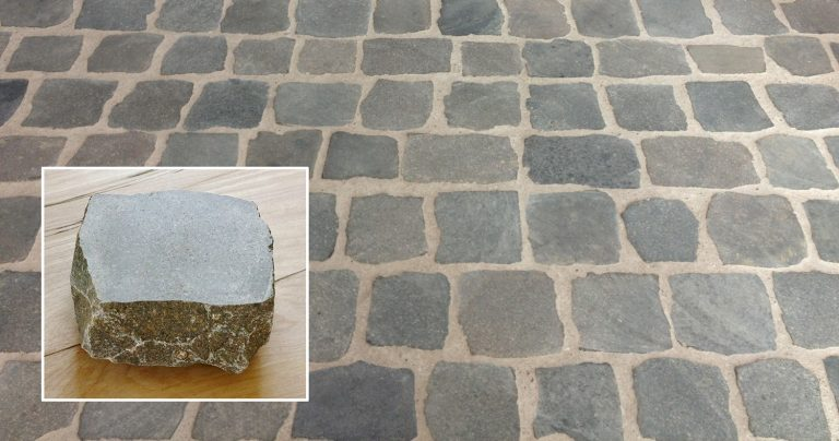 Cobblestone With Smooth Tops
