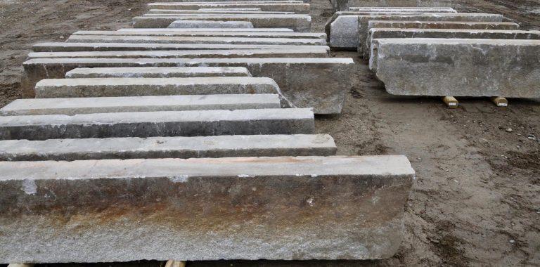 Second generation granite curbstone